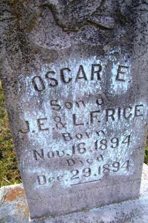 RICE, OSCAR E. - Franklin County, Arkansas   OSCAR E. RICE - Arkansas Gravestone Photos
