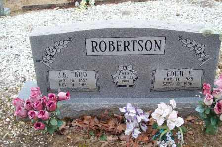 ROBERTSON, EDITH F - Franklin County, Arkansas | EDITH F ROBERTSON - Arkansas Gravestone Photos
