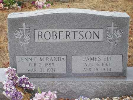 ROBERTSON, JAMES ELI - Franklin County, Arkansas | JAMES ELI ROBERTSON - Arkansas Gravestone Photos