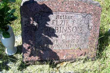 ROBINSON, ELZIE - Franklin County, Arkansas | ELZIE ROBINSON - Arkansas Gravestone Photos