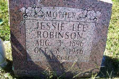 ROBINSON, JESSIE LEE - Franklin County, Arkansas | JESSIE LEE ROBINSON - Arkansas Gravestone Photos