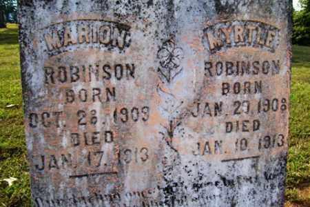ROBINSON, MARION - Franklin County, Arkansas | MARION ROBINSON - Arkansas Gravestone Photos