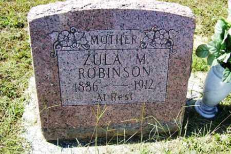 MCCANTE ROBINSON, ZUA M - Franklin County, Arkansas   ZUA M MCCANTE ROBINSON - Arkansas Gravestone Photos
