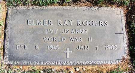 ROGERS (VETERAN WWII), ELMER RAY - Franklin County, Arkansas | ELMER RAY ROGERS (VETERAN WWII) - Arkansas Gravestone Photos
