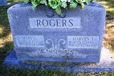 ROGERS, HARVEY JEFFERSON - Franklin County, Arkansas | HARVEY JEFFERSON ROGERS - Arkansas Gravestone Photos