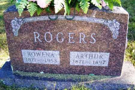 PENDERGRASS ROGERS, ROWENA CORINNA - Franklin County, Arkansas | ROWENA CORINNA PENDERGRASS ROGERS - Arkansas Gravestone Photos