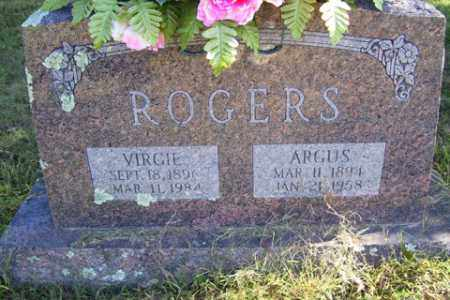 MCGEE ROGERS, VIRGIE A - Franklin County, Arkansas | VIRGIE A MCGEE ROGERS - Arkansas Gravestone Photos