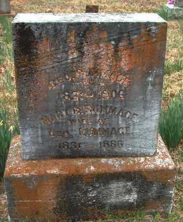RUMMAGE, MARY B. - Franklin County, Arkansas   MARY B. RUMMAGE - Arkansas Gravestone Photos
