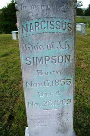 SIMPSON, NARCISSUS - Franklin County, Arkansas | NARCISSUS SIMPSON - Arkansas Gravestone Photos