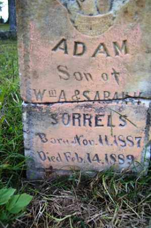 SORRELS, ADAM - Franklin County, Arkansas   ADAM SORRELS - Arkansas Gravestone Photos