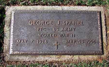SPANEL (VETERAN WWII), GEORGE J - Franklin County, Arkansas | GEORGE J SPANEL (VETERAN WWII) - Arkansas Gravestone Photos