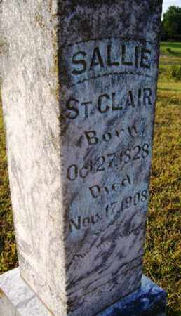 ST  CLAIR, SALLIE - Franklin County, Arkansas | SALLIE ST  CLAIR - Arkansas Gravestone Photos