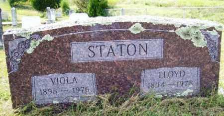 STATON, LLOYD B. - Franklin County, Arkansas   LLOYD B. STATON - Arkansas Gravestone Photos