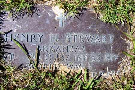 STEWART (VETERAN WWI), HENRY HOPKINS - Franklin County, Arkansas | HENRY HOPKINS STEWART (VETERAN WWI) - Arkansas Gravestone Photos