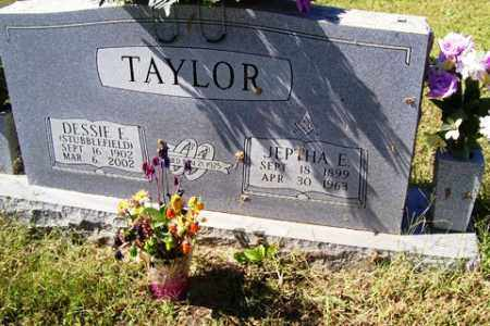 TAYLOR, JEPTHA E. - Franklin County, Arkansas | JEPTHA E. TAYLOR - Arkansas Gravestone Photos