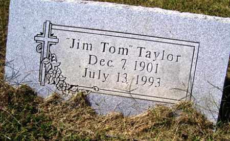 TAYLOR, JIM TOM - Franklin County, Arkansas | JIM TOM TAYLOR - Arkansas Gravestone Photos