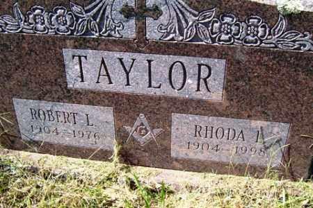 TAYLOR, ROBERT L. - Franklin County, Arkansas | ROBERT L. TAYLOR - Arkansas Gravestone Photos