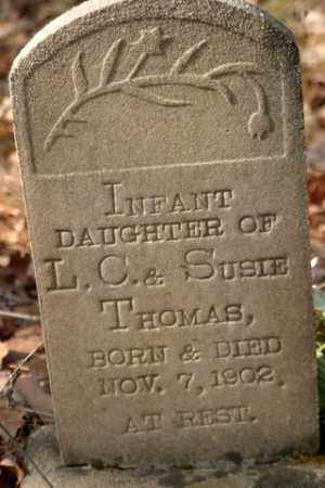 THOMAS, INFANT DAUGHTER - Franklin County, Arkansas | INFANT DAUGHTER THOMAS - Arkansas Gravestone Photos