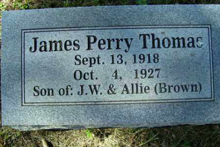 THOMAS, JAMES PERRY - Franklin County, Arkansas | JAMES PERRY THOMAS - Arkansas Gravestone Photos