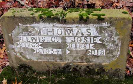 THOMAS, JOSIE - Franklin County, Arkansas | JOSIE THOMAS - Arkansas Gravestone Photos
