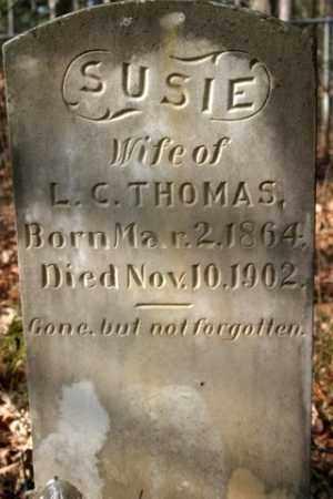 THOMAS, SUSIE - Franklin County, Arkansas | SUSIE THOMAS - Arkansas Gravestone Photos