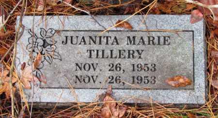 TILLERY, JUANITA MARIE - Franklin County, Arkansas | JUANITA MARIE TILLERY - Arkansas Gravestone Photos