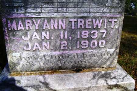 TREWIT, MARY ANN - Franklin County, Arkansas   MARY ANN TREWIT - Arkansas Gravestone Photos