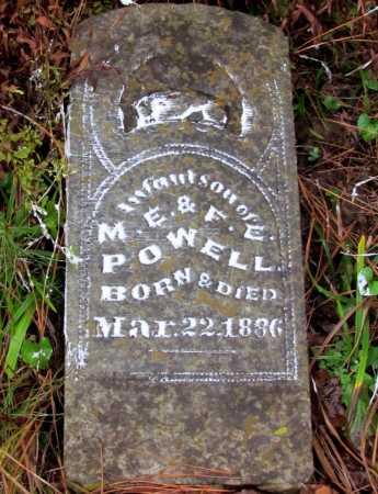 POWELL, INFANT SON - Franklin County, Arkansas   INFANT SON POWELL - Arkansas Gravestone Photos