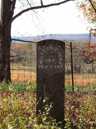 CHILDERS (VETERAN UNION), MILES - Franklin County, Arkansas | MILES CHILDERS (VETERAN UNION) - Arkansas Gravestone Photos