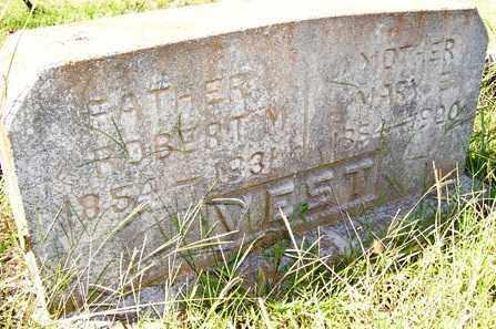 VEST, MARY E. - Franklin County, Arkansas | MARY E. VEST - Arkansas Gravestone Photos
