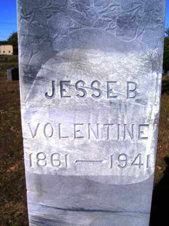 VOLENTINE, JESSE B. - Franklin County, Arkansas | JESSE B. VOLENTINE - Arkansas Gravestone Photos