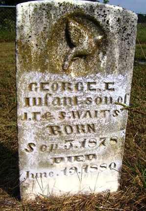 WAITS, GEORGE L. - Franklin County, Arkansas | GEORGE L. WAITS - Arkansas Gravestone Photos