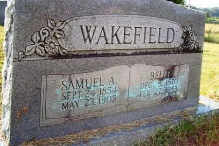 COLE WAKEFIELD, BELLE - Franklin County, Arkansas | BELLE COLE WAKEFIELD - Arkansas Gravestone Photos