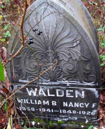 WALDEN, NANCY F - Franklin County, Arkansas   NANCY F WALDEN - Arkansas Gravestone Photos