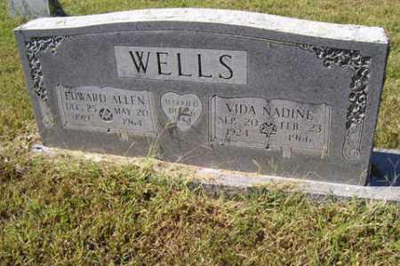 RICE WELLS, VIDA NADINE - Franklin County, Arkansas | VIDA NADINE RICE WELLS - Arkansas Gravestone Photos