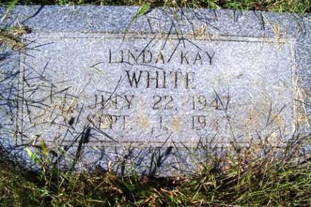 WHITE, LINDA KAY - Franklin County, Arkansas   LINDA KAY WHITE - Arkansas Gravestone Photos