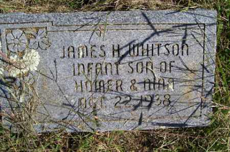 WHITSON, JAMES H. - Franklin County, Arkansas | JAMES H. WHITSON - Arkansas Gravestone Photos
