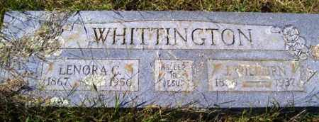 WHITTINGTON, JOEL WILBURN - Franklin County, Arkansas | JOEL WILBURN WHITTINGTON - Arkansas Gravestone Photos