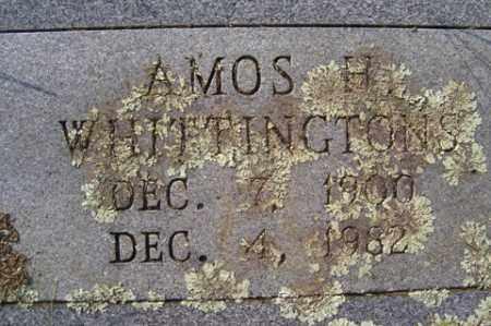 WHITTINGTONS, AMOS H. - Franklin County, Arkansas | AMOS H. WHITTINGTONS - Arkansas Gravestone Photos