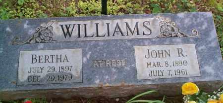WILLIAMS, JOHN R - Franklin County, Arkansas | JOHN R WILLIAMS - Arkansas Gravestone Photos