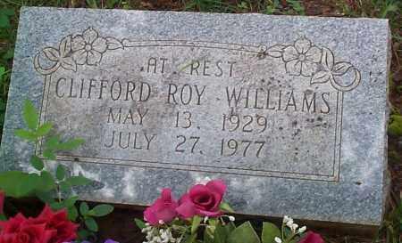 WILLIAMS, CLIFFORD ROY - Franklin County, Arkansas | CLIFFORD ROY WILLIAMS - Arkansas Gravestone Photos