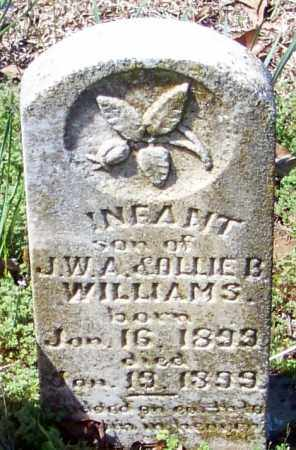 WILLIAMS, INFANT SON - Franklin County, Arkansas | INFANT SON WILLIAMS - Arkansas Gravestone Photos