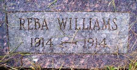 WILLIAMS, REBA - Franklin County, Arkansas | REBA WILLIAMS - Arkansas Gravestone Photos
