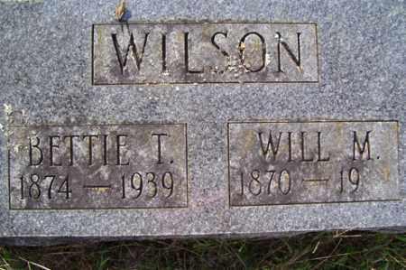"WILSON, WILLIAM MANCIAL ""WILL"" - Franklin County, Arkansas | WILLIAM MANCIAL ""WILL"" WILSON - Arkansas Gravestone Photos"