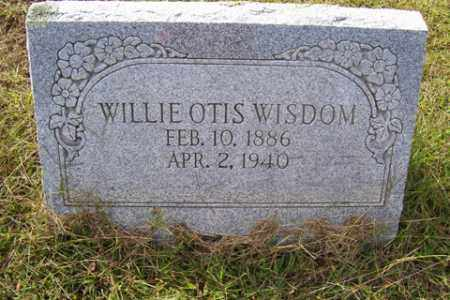WISDOM, WILLIE OTIS - Franklin County, Arkansas | WILLIE OTIS WISDOM - Arkansas Gravestone Photos