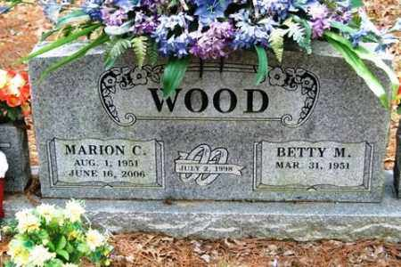 WOOD, MARION C - Franklin County, Arkansas | MARION C WOOD - Arkansas Gravestone Photos