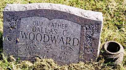 WOODWARD, DALLAS C. - Franklin County, Arkansas | DALLAS C. WOODWARD - Arkansas Gravestone Photos