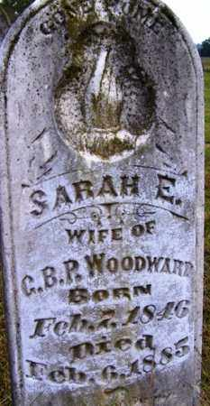 WOODWARD, SARAH E - Franklin County, Arkansas   SARAH E WOODWARD - Arkansas Gravestone Photos