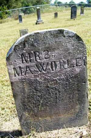 WORLEY, MRS. M. A. - Franklin County, Arkansas | MRS. M. A. WORLEY - Arkansas Gravestone Photos