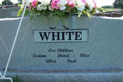 WHITE, DOROTHY NELL (BACK OF STONE) - Franklin County, Arkansas | DOROTHY NELL (BACK OF STONE) WHITE - Arkansas Gravestone Photos